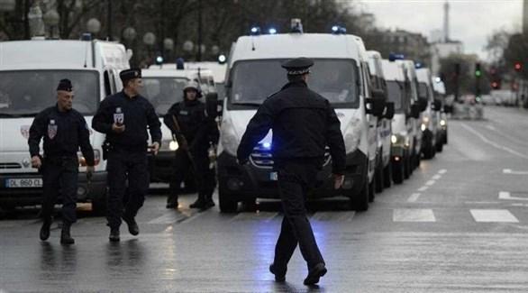الشرطة الفرنسية المسلحة تنتشر في ستراسبورج (رويترز)