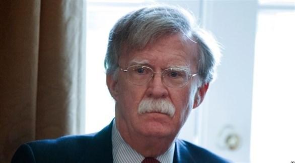 مستشار الأمن القومي الأمريكي جون بولتون (أرشيف)