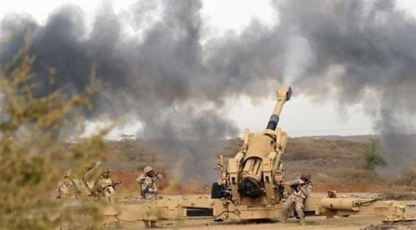 قصف مدفعي للجيش اليمني (أرشيف)