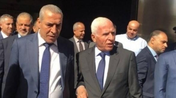 وفد من المجلس الوطني الفلسطيني في القاهرة (أرشيف)