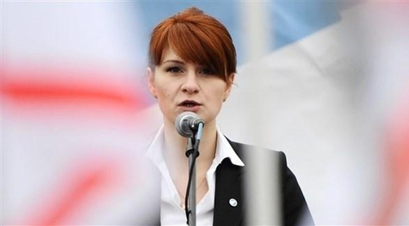 العميلة الروسية ماريا بوتينا (أرشيف)