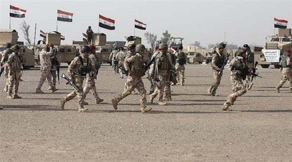 جيش عراقي على الحدود مع سوريا (أرشيف)