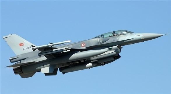 طائرة حربية تركية (أرشيف)