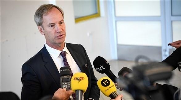 السفير السويدي، لدى الأمم المتحدة، أولوف سكوغ (أرشيف)