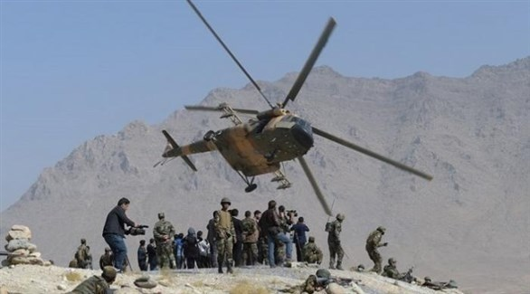 مروحية عسكرية أفغانية (أرشيف)