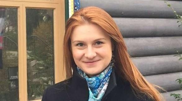 الناشطة الروسية ماريا بوتينا (أرشيف)