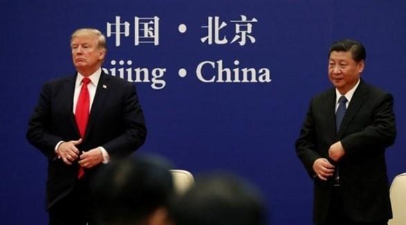 الرئيس الأمريكي ترامب ونظيره الصيني شي (أرشيف)