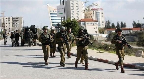 جنود إسرائيليون يقتحمون مدينة رام الله (أرشيف)