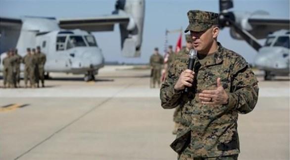 قائد الفرقة الخاصة من قوات المارينز الأمريكية، آدم شالكي (أرشيف)