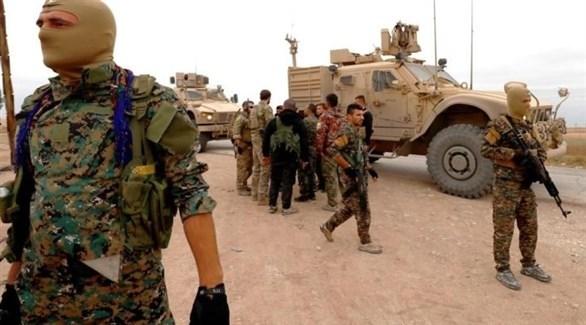 قوات سوريا الديمقراطية في هجين (أرشيف)
