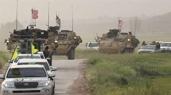 قوات أمريكية وكردية في سوريا (أرشيف)