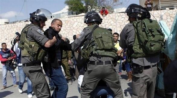 الشرطة الإسرائيلية تعتقل فلسطينيين (أرشيف)