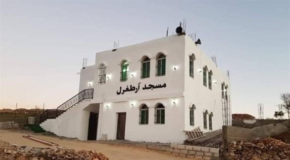 المسجد الذي أطلق عليه اسم آرطغرل (24)