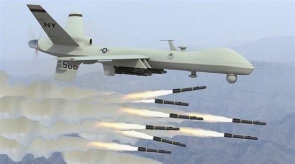 طائرة بدون طيار تابعة للتحالف الدولي في العراق وسوريا (أرشيف)