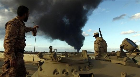 عناصر من الجيش الليبي (أرشيف)