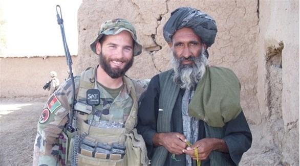 الجندي الأمريكي مات غولستين في أفغانستان (أ ب)