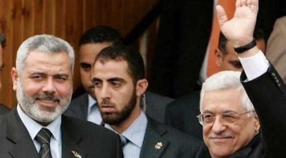 محمود عباس وإسماعيل هنية (أرشيف)