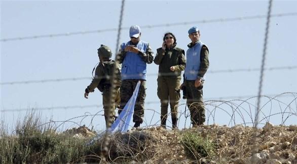 عناصر من قوة يونيفيل على الحدود اللبنانية (أرشيف)