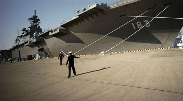 سفن حربية لدى اليابان (أرشيف)