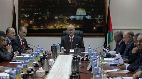 اجتماع للحكومة الفلسطينية (أرشيف)