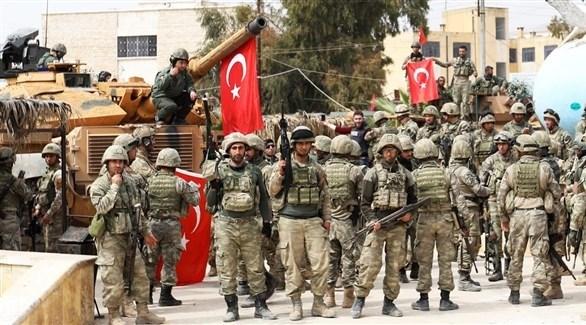 جنود أتراك على الحدود مع سوريا (أرشيف)