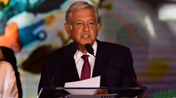 رئيس المكسيك أندريس مانويل لوبيز أوبرادور (أرشيف)