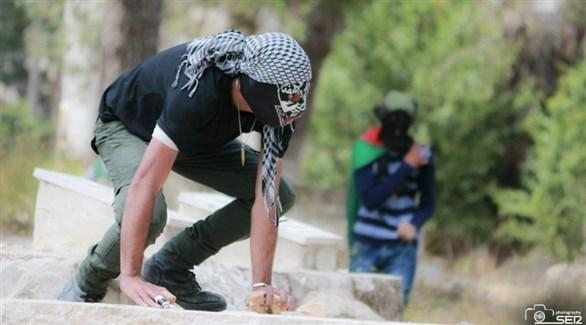 مواجهات بين فلسطينيين وقوات الأمن الإسرائيلية (أ ف ب)