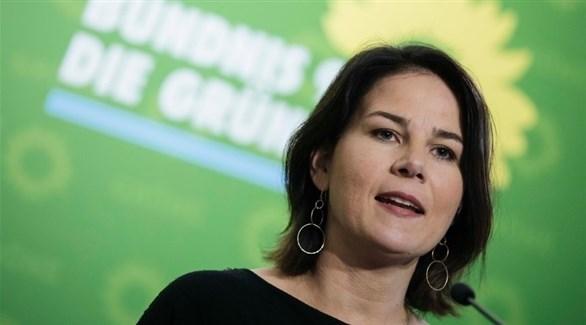 رئيسة حزب الخضر الألماني أنالينا بيربوك (أرشيف)