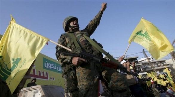 مسلحون من ميليشيا حزب الله في لبنان (أرشيف)