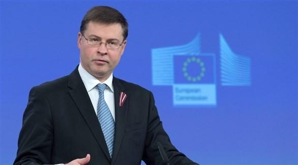 نائب رئيس المفوضية الأوروبية، فالديس دومبروفسكيس (أرشيف)