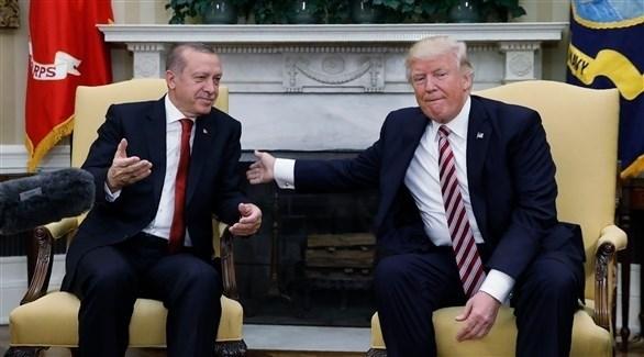 الرئيسان الأمريكي دونالد ترامب والتركي رجب طيب أردوغان (أرشيف)