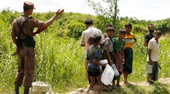 أقلية الروهينجا المسلمة في ميانمار (أرشيف)