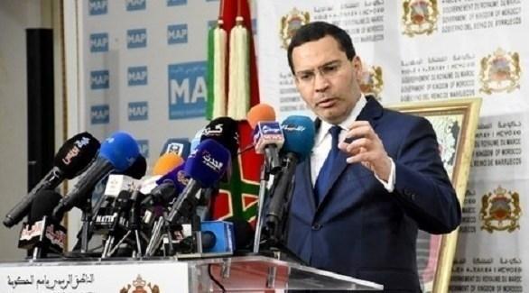 المتحدث باسم الحكومة المغربية مصطفى الخلفي (أرشيف)