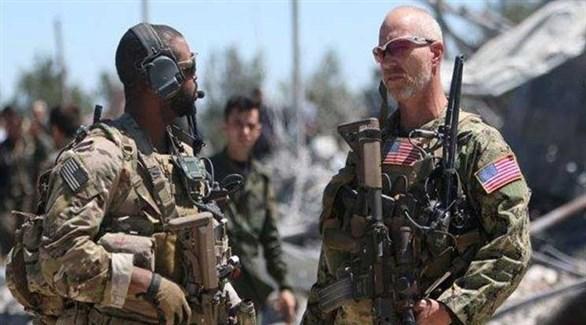 جنود أمريكيون في الرقة السورية (أرشيف)