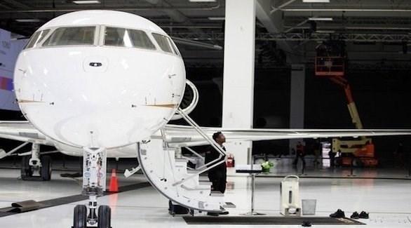 طائرة بومباردييه 7500 الخاصة (ديلي ميل)