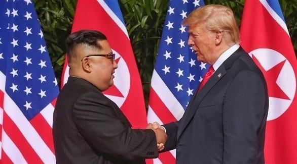 ترامب وكيم جونغ أون (أرشيف)