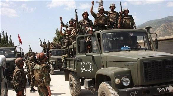 عناصر من قوات النظام السوري (أرشيف)