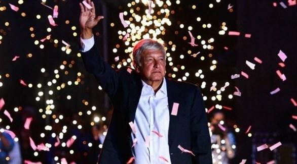 الرئيس المكسيكي الجديد أندريس مانويل لوبيز أوبرادور (أرشيف)