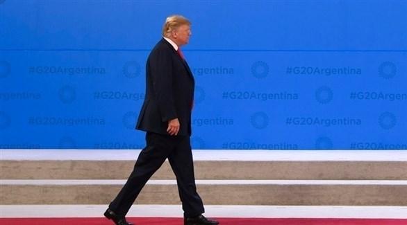 الرئيس الأمريكي دونالد ترامب (إ ب أ)