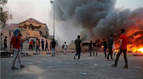 مظاهرات في البصرة (أرشيف)