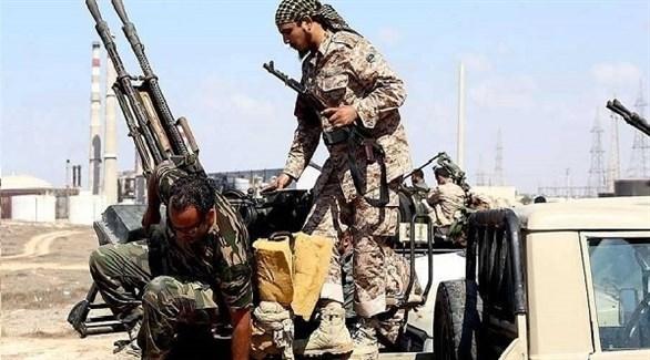 مسلحون في ليبيا بفضل الدعم التركي القطري (أرشيف)
