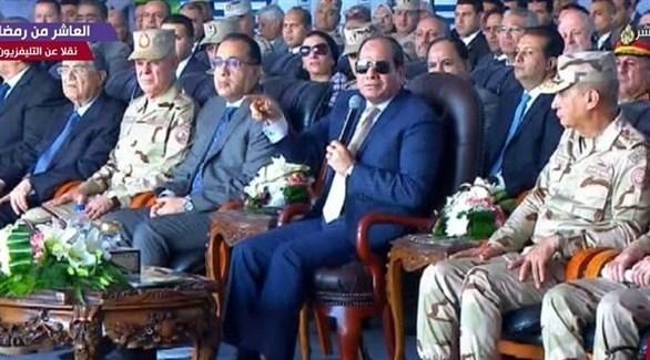 الرئيس المصري عبد الفتاح السيسي (نقلا عن قناة
