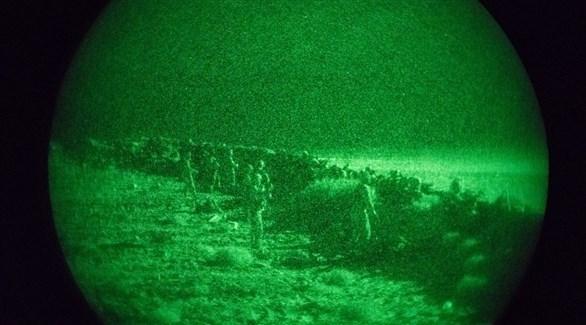 عناصر من القوات الأمريكية بالقرب من فاعدة التنف (أرشيف/ الخارجية الأمريكية)