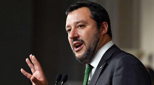 وزير الداخلية الإيطالي اليميني المتطرف ماتيو سالفيني (أرشيف)
