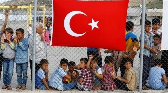 أطفال سوريون في مخيم لاجئين بتركيا (أرشيف)