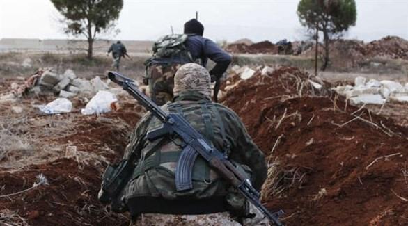 عناصر من أحد الفصائل المسلحة في إدلب (أرشيف)