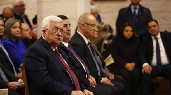 الرئيس عباس في قداس بكنيسة المهد في بيت لحم (أرشيف)