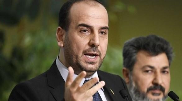 رئيس هيئة التفاوض السورية، نصر الحريري (أرشيف)