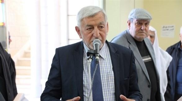 وزير الزراعة الفلسطيني سفيان سلطان (أرشيف)