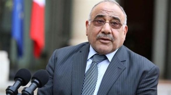 رئيس مجلس الوزراء العراقي عادل عبد المهدي (أرشيف)